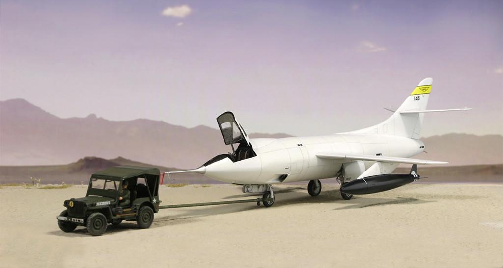 Douglas D-588-II ''Skyrocket'' casseur de Mach (1:72 Special Hobby) - Page 3 Img_0011