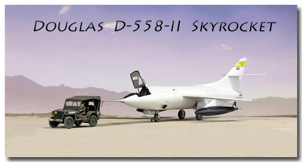 Douglas D-588-II ''Skyrocket'' casseur de Mach (1:72 Special Hobby) - Page 4 Img_0020