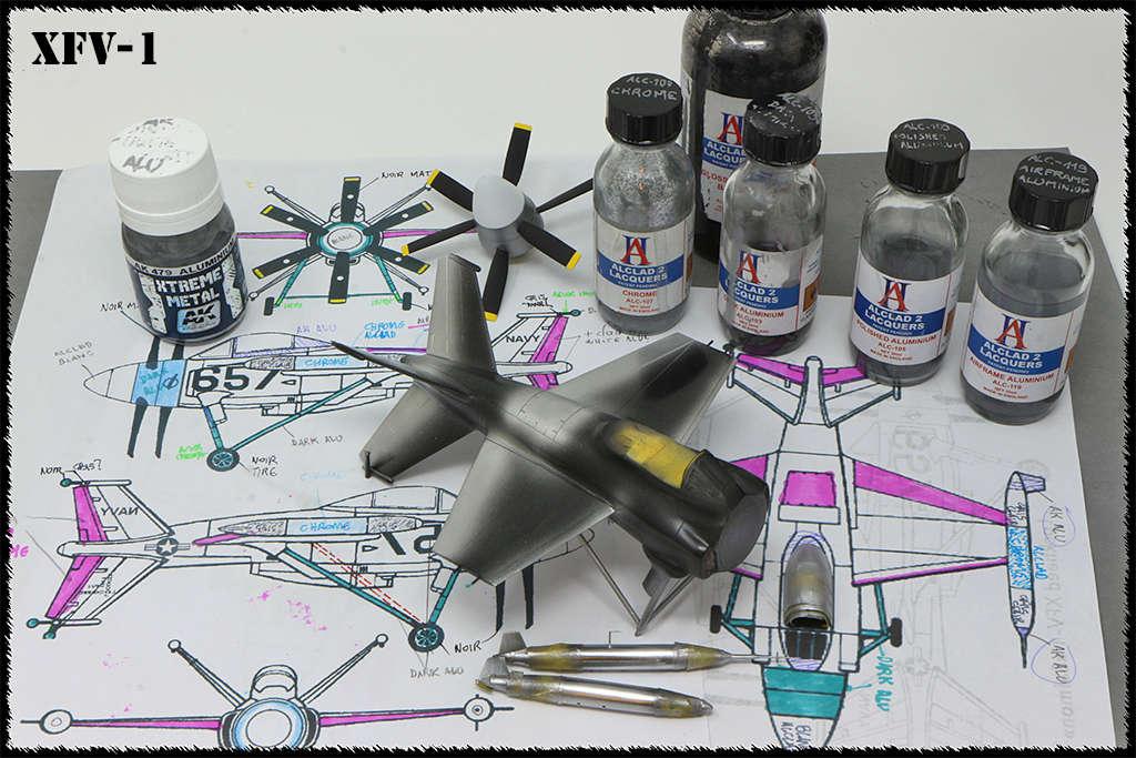 "Lockheed XFV-1 ""Salmon"" (1:72 -Valom) Img_0030"