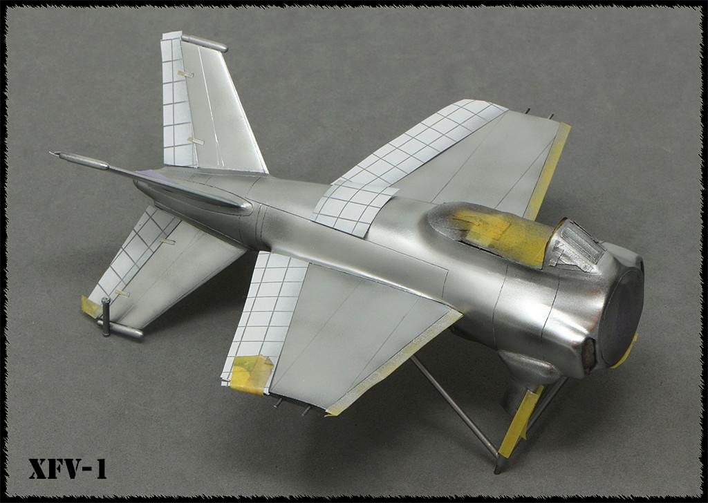 """Lockheed XFV-1 """"Salmon"""" (1:72 -Valom) - Page 2 Img_0034"""