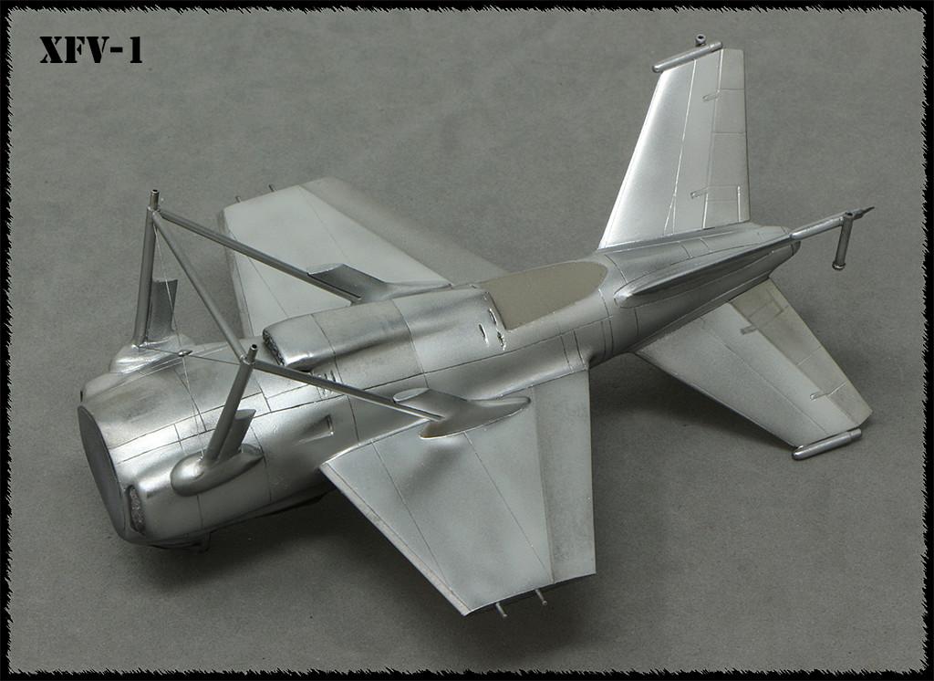 """Lockheed XFV-1 """"Salmon"""" (1:72 -Valom) - Page 2 Img_0036"""