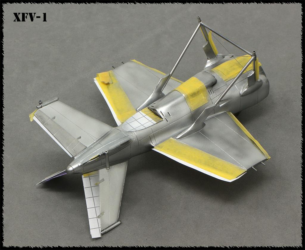 """Lockheed XFV-1 """"Salmon"""" (1:72 -Valom) - Page 2 Img_0037"""