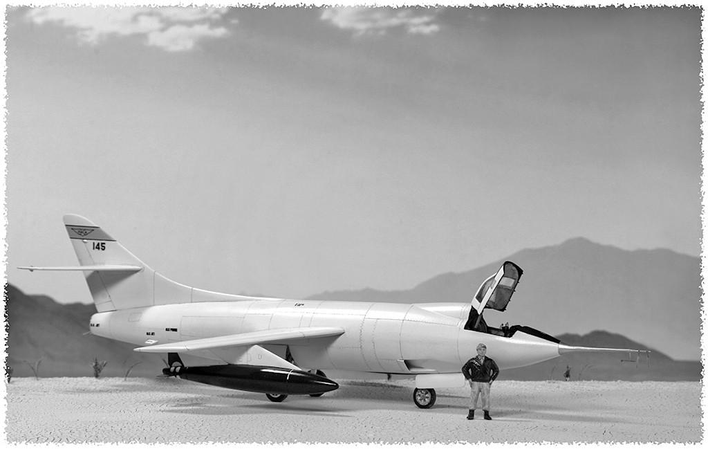Douglas D-588-II ''Skyrocket'' casseur de Mach (1:72 Special Hobby) - Page 4 Img_3314