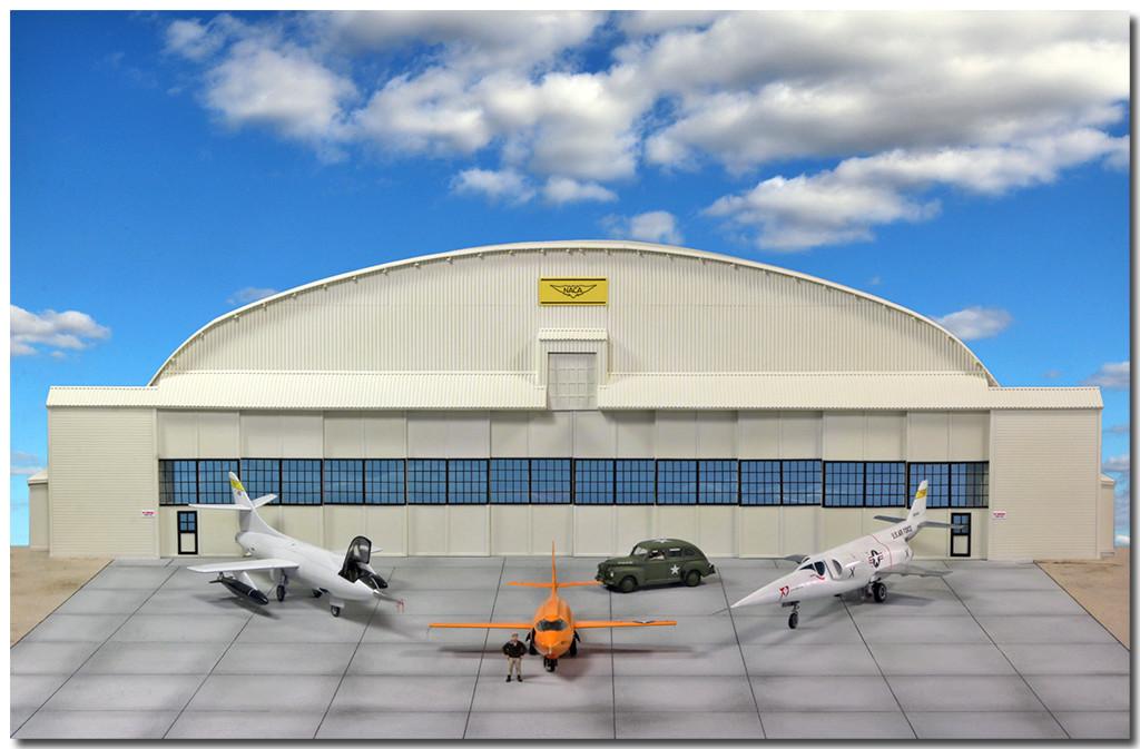 Hangar & tarmac du NACA, 1940's/50's (1:72) - Page 3 Img_3316