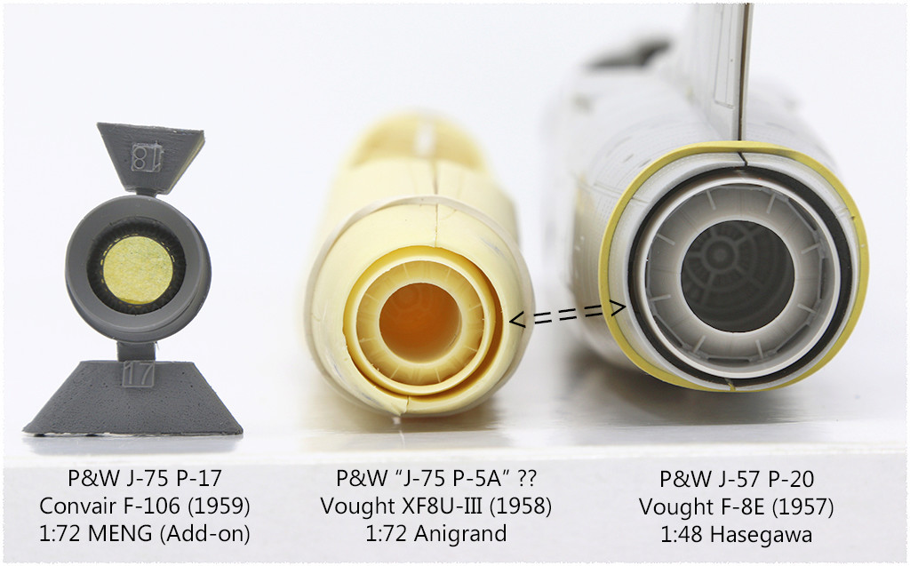 Vought XF8U-3 CRUSADER III V-401 [1/72 - Anigrand] Img_3318