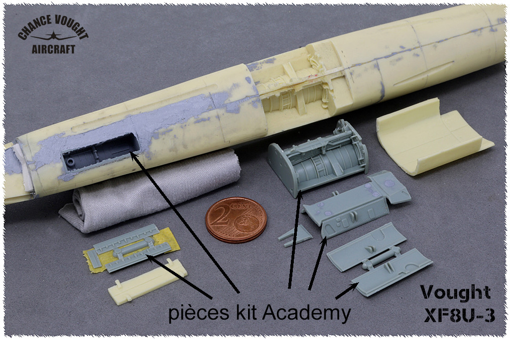 Vought XF8U-3 CRUSADER III V-401 [1/72 - Anigrand] - Page 2 Img_3511