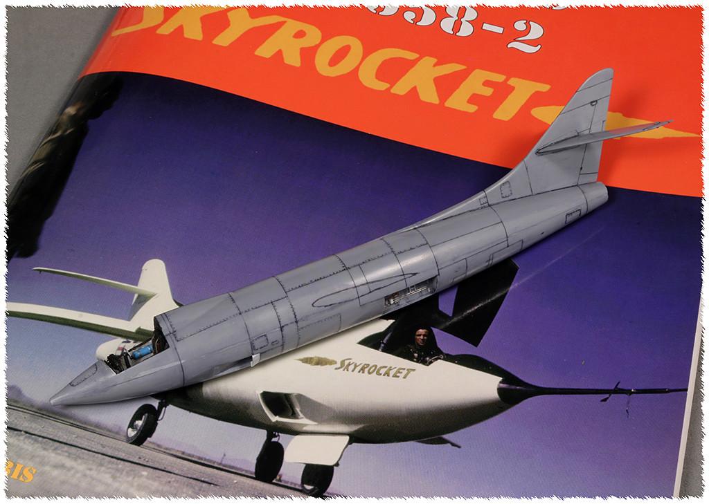 Douglas D-588-II ''Skyrocket'' casseur de Mach (1:72 Special Hobby) - Page 2 Img_9911