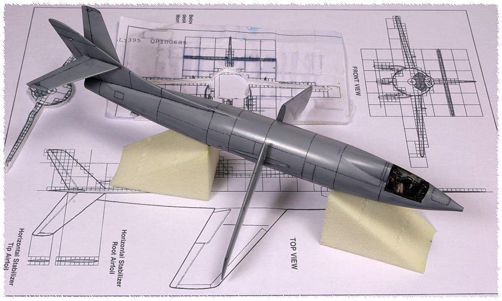 Douglas D-588-II ''Skyrocket'' casseur de Mach (1:72 Special Hobby) - Page 2 Img_9912