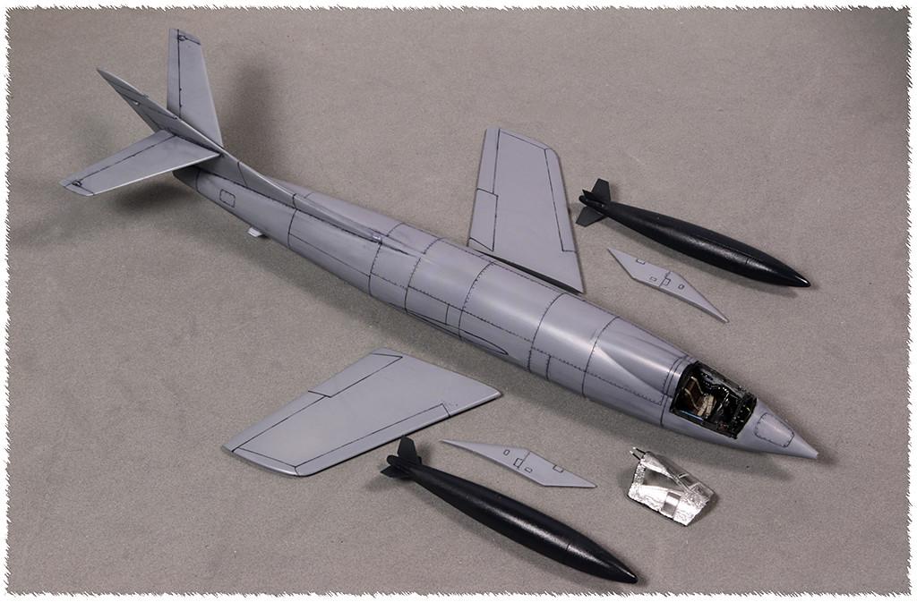 Douglas D-588-II ''Skyrocket'' casseur de Mach (1:72 Special Hobby) Img_9913