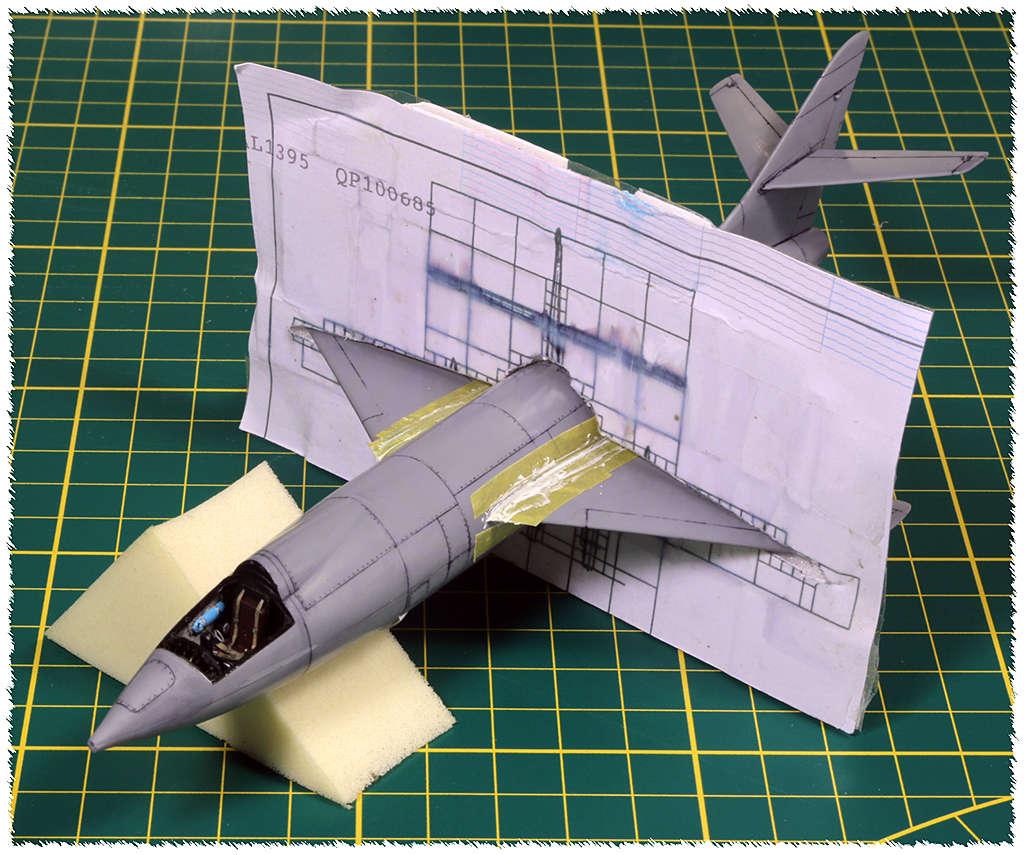 Douglas D-588-II ''Skyrocket'' casseur de Mach (1:72 Special Hobby) Img_9914