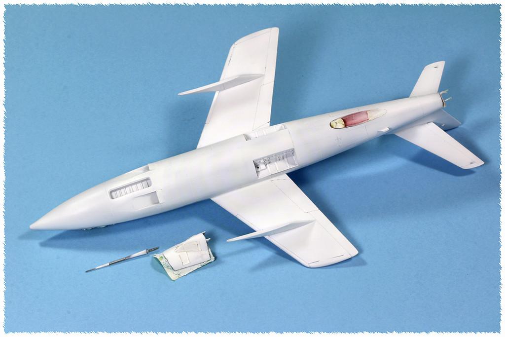 Douglas D-588-II ''Skyrocket'' casseur de Mach (1:72 Special Hobby) - Page 2 Img_9930