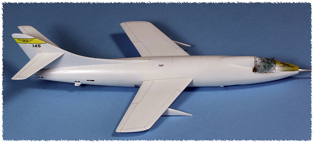 Douglas D-588-II ''Skyrocket'' casseur de Mach (1:72 Special Hobby) - Page 3 Img_9937