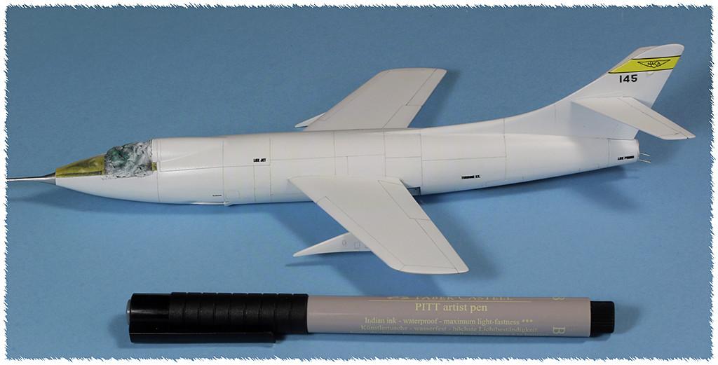 Douglas D-588-II ''Skyrocket'' casseur de Mach (1:72 Special Hobby) - Page 3 Img_9939
