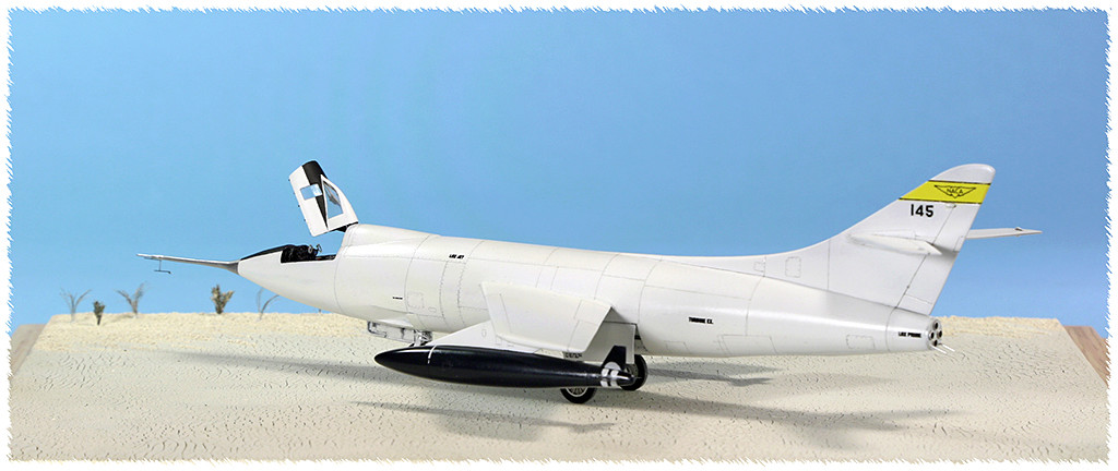 Douglas D-588-II ''Skyrocket'' casseur de Mach (1:72 Special Hobby) - Page 3 Img_9954