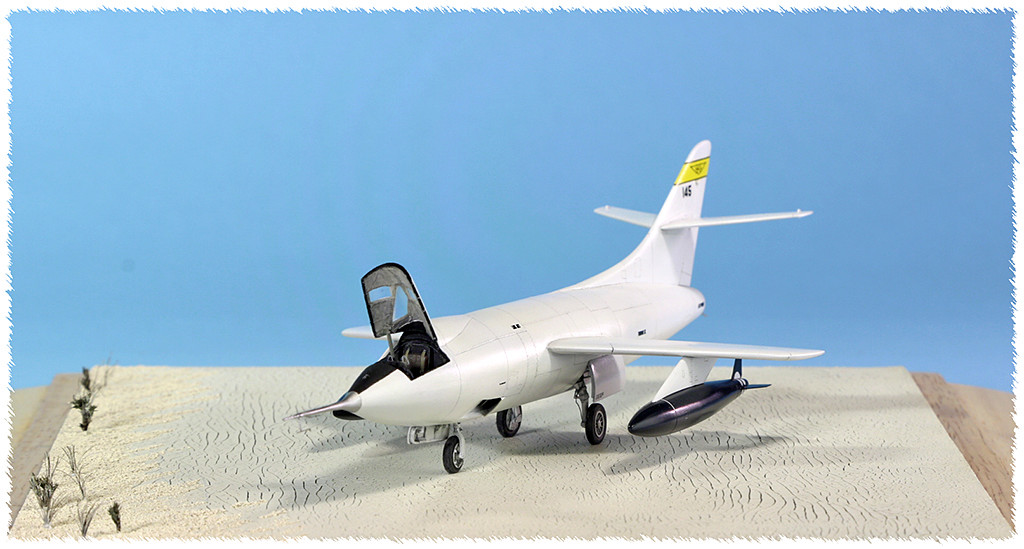 Douglas D-588-II ''Skyrocket'' casseur de Mach (1:72 Special Hobby) - Page 3 Img_9955