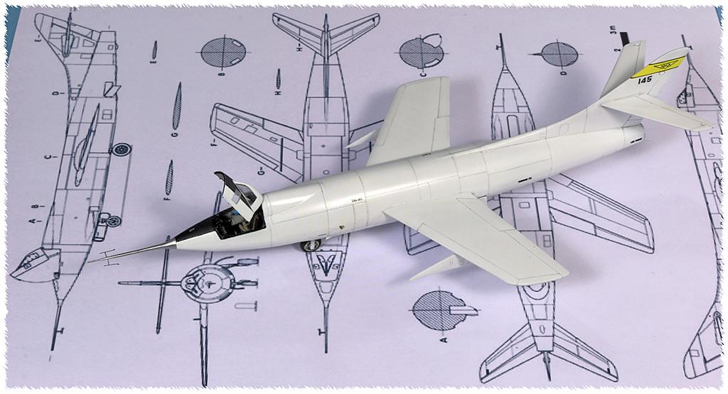 Douglas D-588-II ''Skyrocket'' casseur de Mach (1:72 Special Hobby) - Page 4 Img_9961