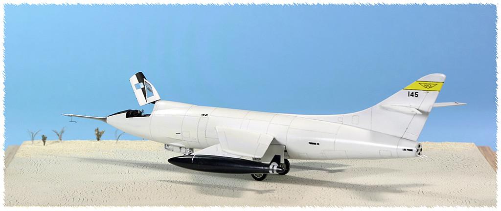 Douglas D-588-II ''Skyrocket'' casseur de Mach (1:72 Special Hobby) - Page 4 Img_9962