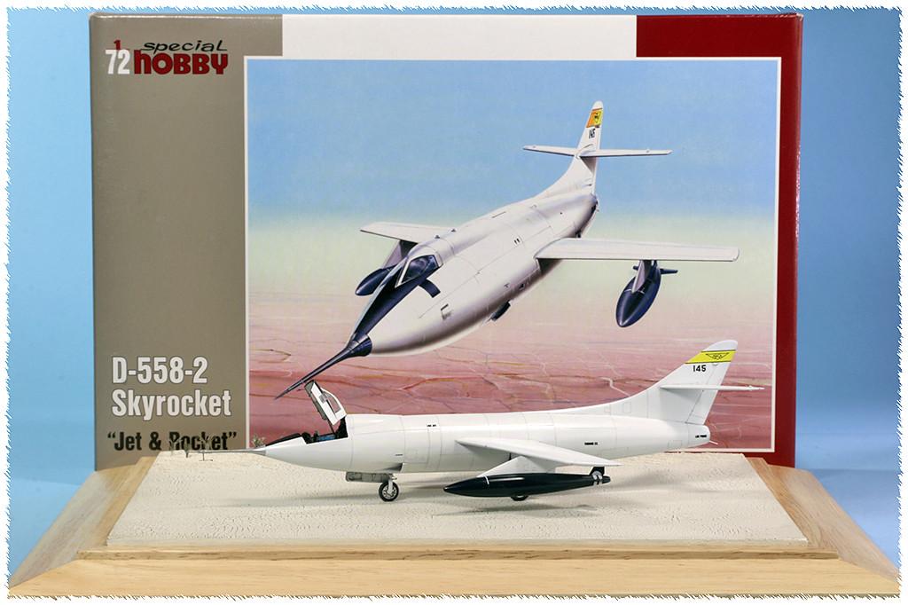 Douglas D-588-II ''Skyrocket'' casseur de Mach (1:72 Special Hobby) - Page 4 Img_9963