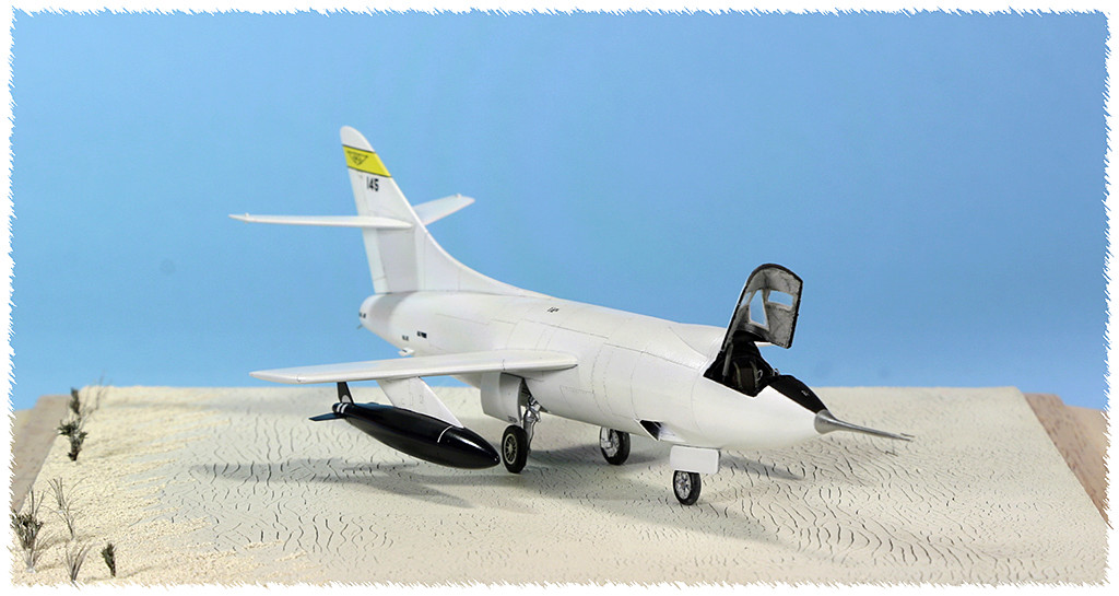 Douglas D-588-II ''Skyrocket'' casseur de Mach (1:72 Special Hobby) - Page 4 Img_9965
