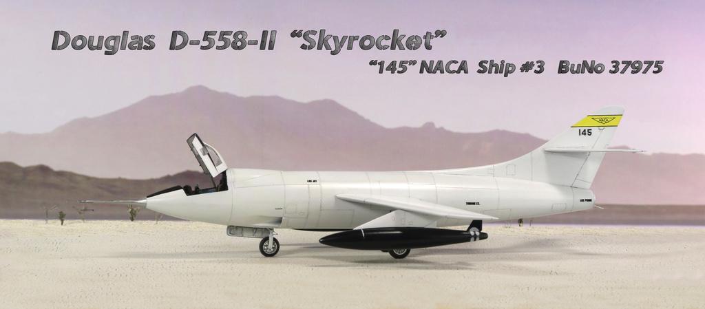 Douglas D-588-II ''Skyrocket'' casseur de Mach (1:72 Special Hobby) - Page 4 Img_9970