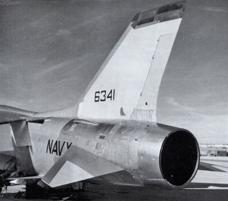 Vought XF8U-3 CRUSADER III V-401 [1/72 - Anigrand] Tuyyre12