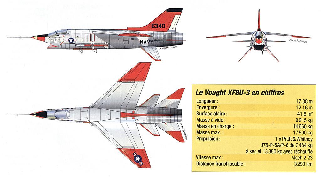 Vought XF8U-3 CRUSADER III V-401 [1/72 - Anigrand] - Page 2 Xf8u-312