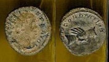 Antoniniano de Mario. CONCORD MILIT. Trier _10