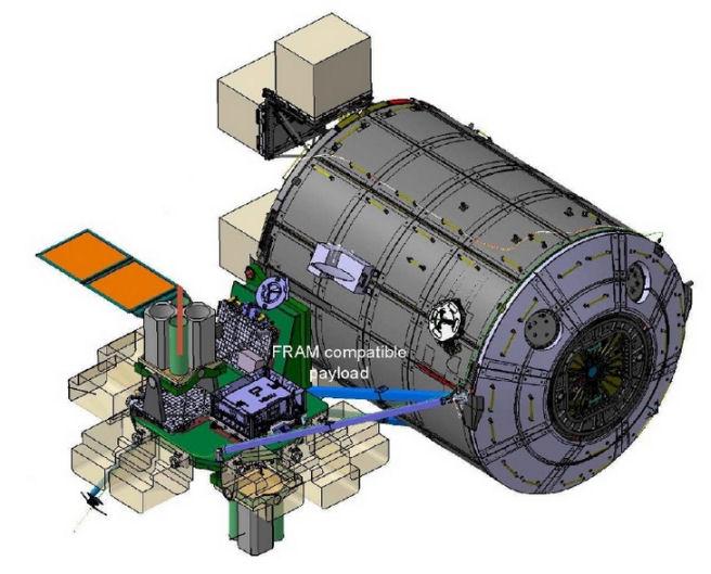 [ISS] Plateforme commerciale Bartolomeo fixée à Columbus Bartol10
