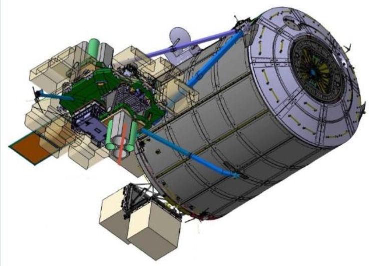 [ISS] Plateforme commerciale Bartolomeo fixée à Columbus Bartol11