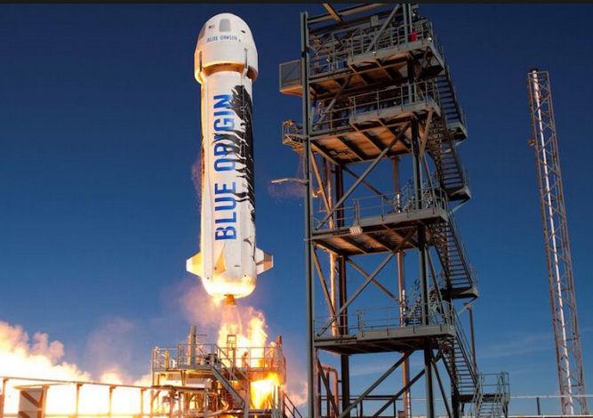 Le lanceur New Shepard de Blue Origin Lanceu10