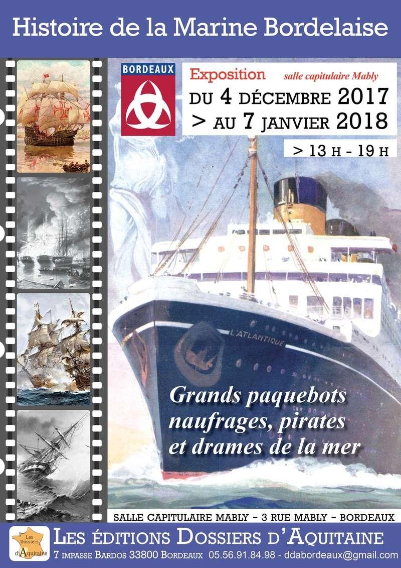 HISTOIRE DE LA MARINE A BORDEAUX Affich10