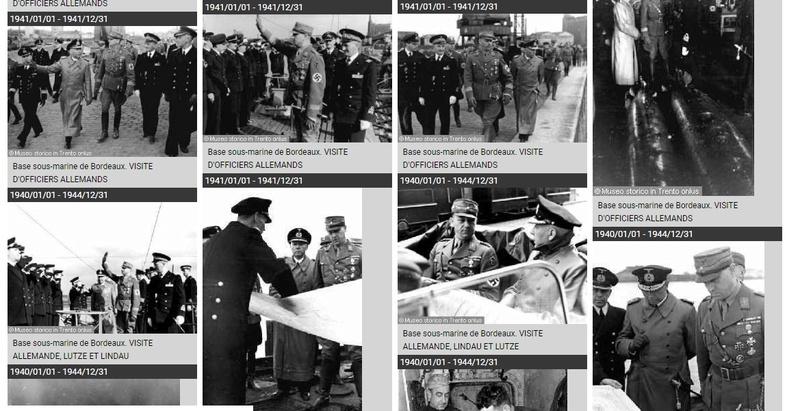 VISITE OFFICIELLE VIKTOR LUTZE / EUGEN LINDAU  / BETASOM 1941 Lutze_10