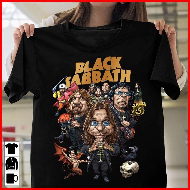 Black Sabbath Tee10