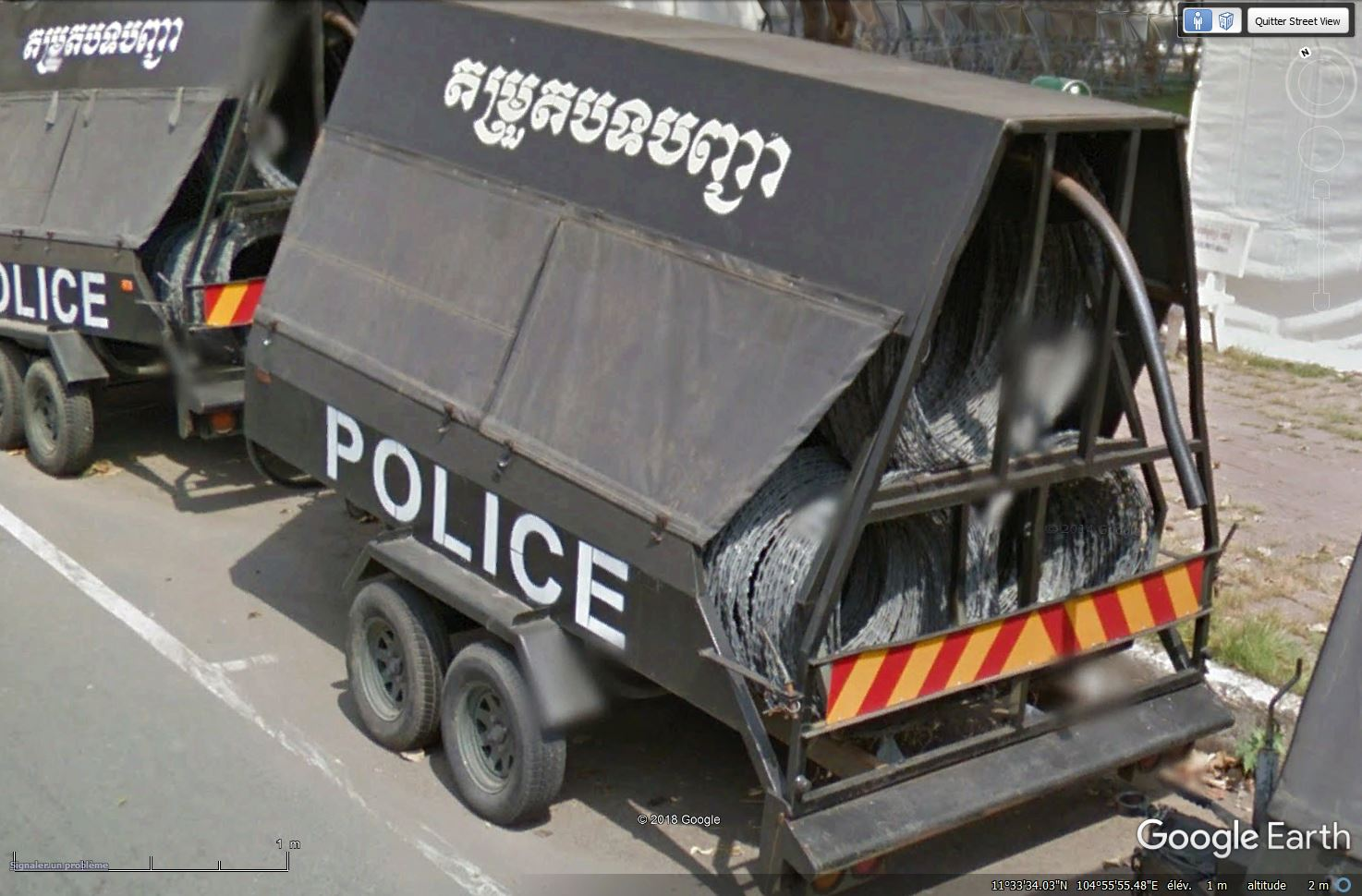 STREET VIEW : véhicules de police du monde - Page 10 Tsge_716