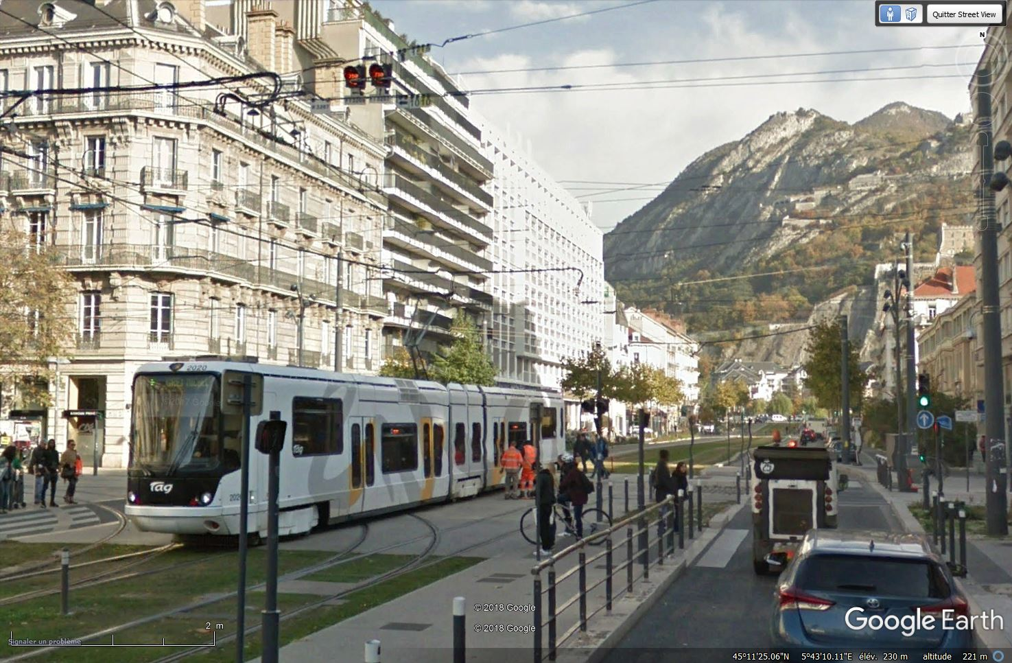 STREET VIEW : les tramways en action - Page 3 Tsge_832