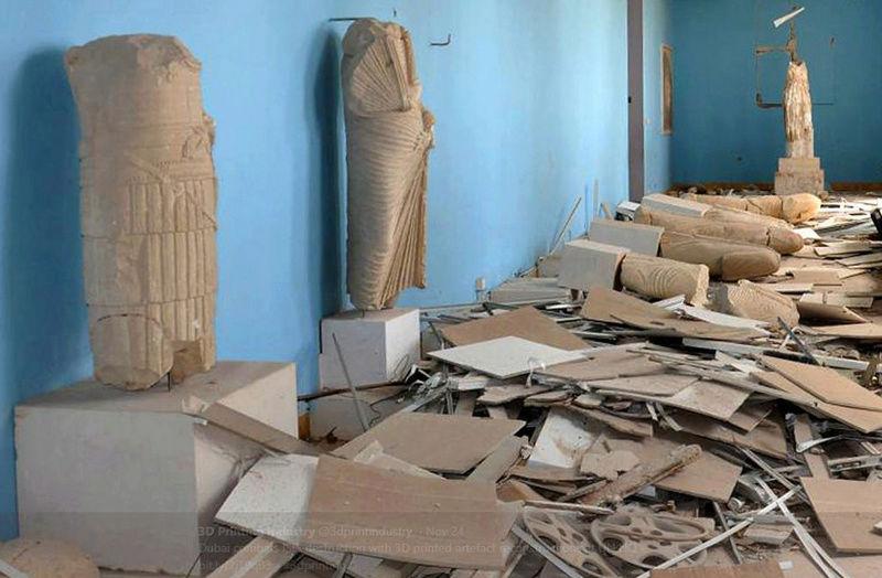 EN LA ONU ESTATUA DE ATHENA, DIOSA DE LA GUERRA Botonr13