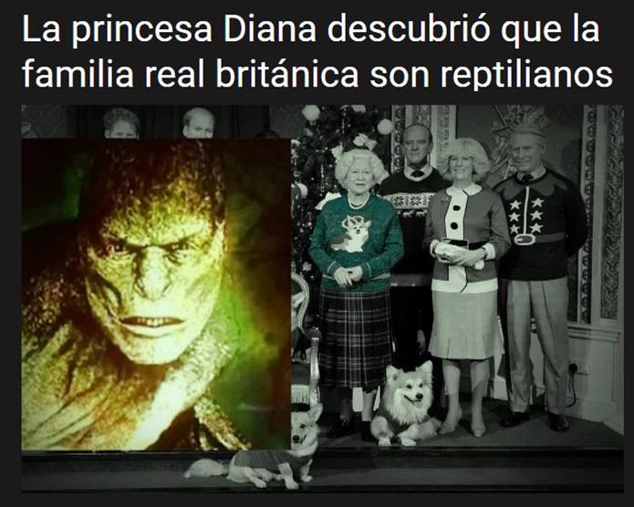 LA REALEZA BRITÁNICA ES REPTIL Bunker19