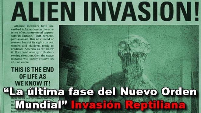 INVASIÓN REPTILIANA:  ULTIMA FASE DEL N.O.M. Dol23
