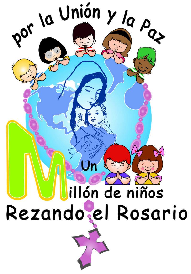 NIÑOS MANIPULADOS PARA REZAR EL ROSARIO!! Flo14