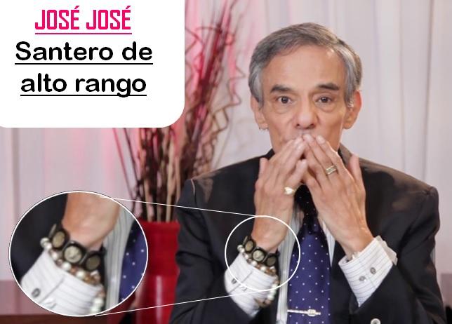 JOSÉ JOSÉ, SANTERO QUE DESMIENTE SU MUERTE Mas11