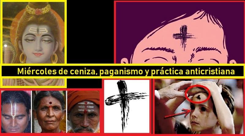 ORÍGEN PAGANO DEL MIÉRC. DE CENIZA Masrd23