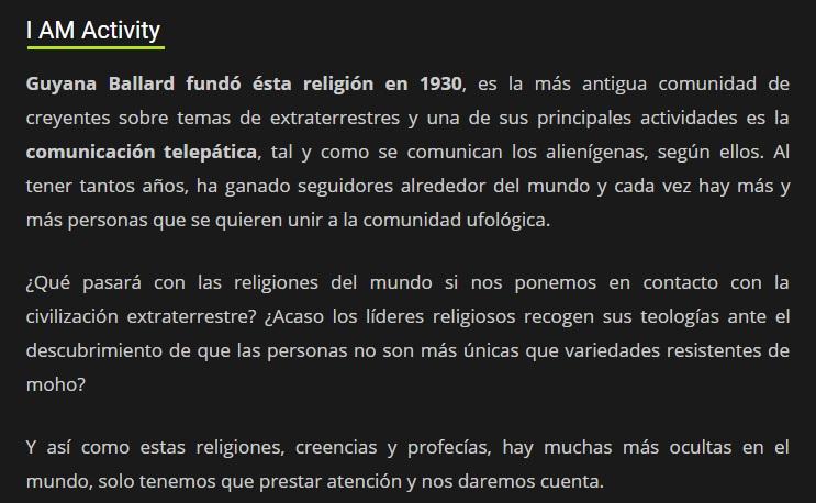 RELIGIONES EXTRATERRESTRES EN NUESTRO PLANETA Pais25