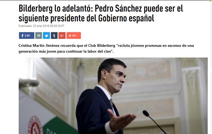PEDRO SÁNCHEZ, SORPRESIVO NUEVO PRESIDENTE DE ESPAÑA Rou_ti11