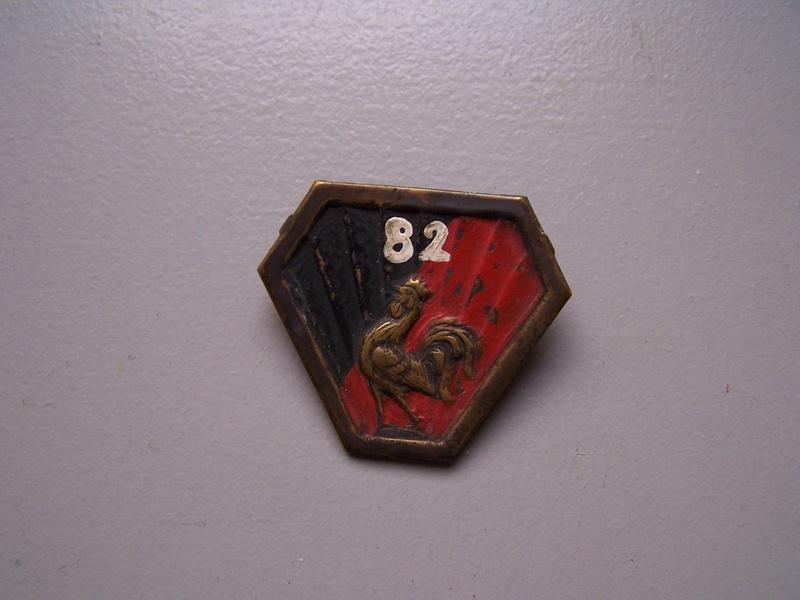 insigne du CEFI 82e Génie -ESC Déc 3 VENDU 100_4012