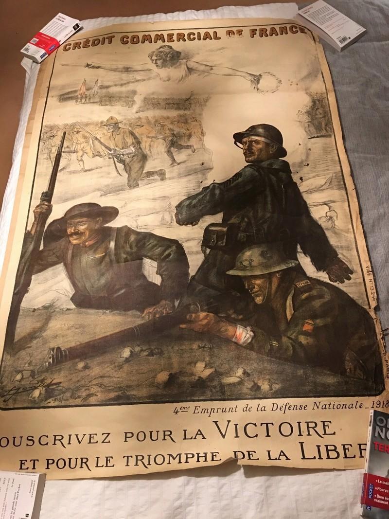 affiche emprunt de guerre 1914-1918 Img_3611