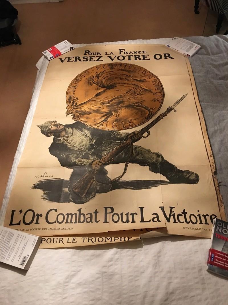 affiche emprunt de guerre 1914-1918 Img_3612
