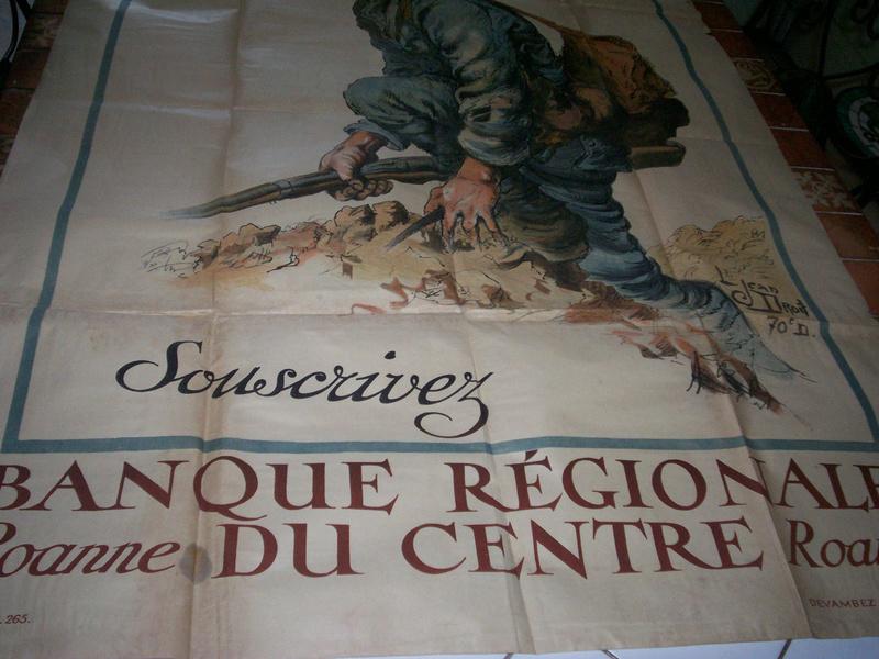 affiche emprunt de guerre 1914-1918 Jn10