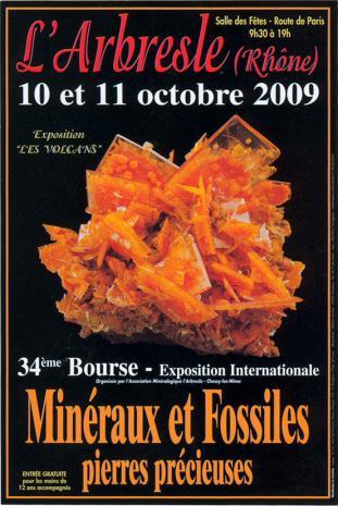 2009-  Bourse aux Minéraux et Fossiles, pierres précieuses de l'Arbresle Bourse11