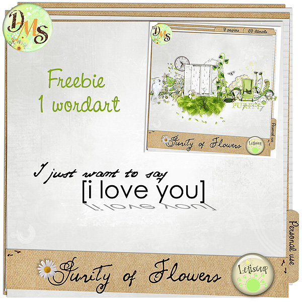 Freebie Purity of flowers Previe33