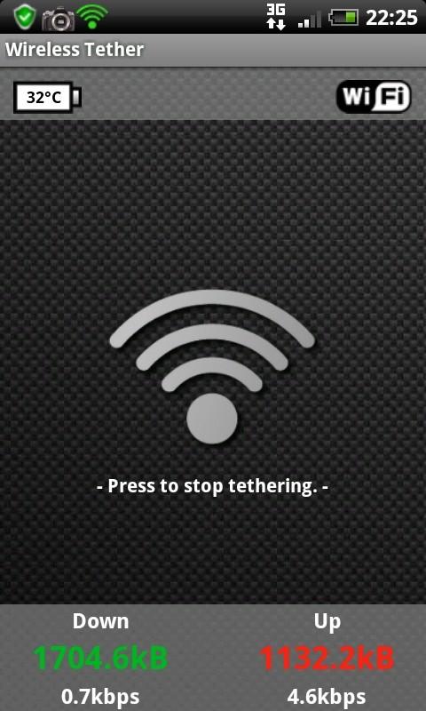 [TUTO] Wifi Tether enfin dispo facilement sur le Desire (Root obligatoire) Cap20142